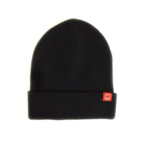 Spitfire Lit Cuff Mens Beanies Black | Sneakers Plus