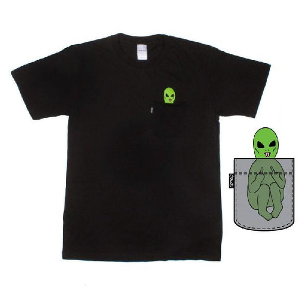 RipNDip Lord Alien Mens Tees Black | Sneakers Plus
