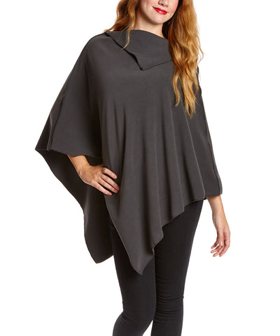 Black NunaWrap Fleece Poncho