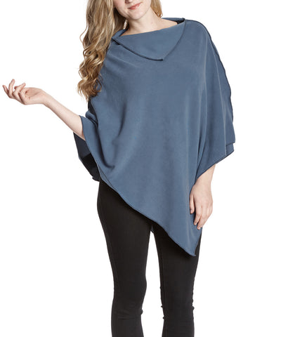 Denim NunaWrap Fleece Poncho