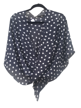 Black with White Dots--a Classic!