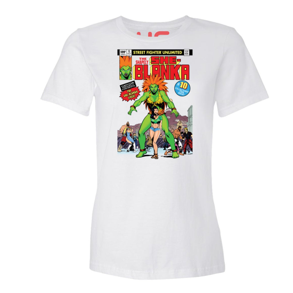 She-Blanka Women's Street Fighter Shirt