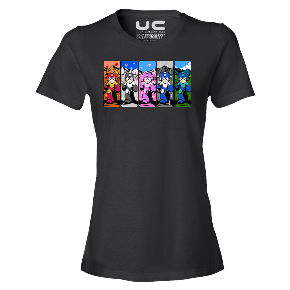 Mega Man 2: Different Day, Different Power - Mega Man Legacy Collection Women's T-Shirt Shirt UdonCollectibles