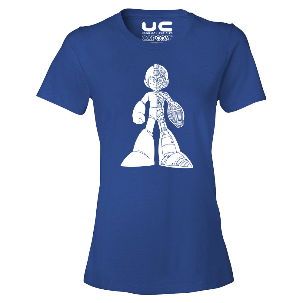 Megaman: 25th Anniversary X-Ray Shot - Megaman Legacy Collection Women's T-Shirt