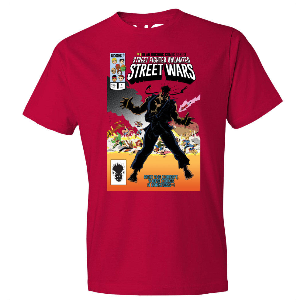 Street Wars Street Fighter Shirt  UdonCollectibles