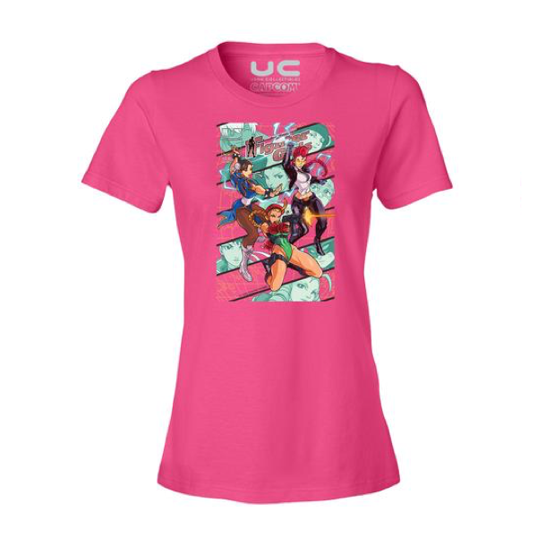 Fighter Girls Women's Street Fighter Shirt  UdonCollectibles