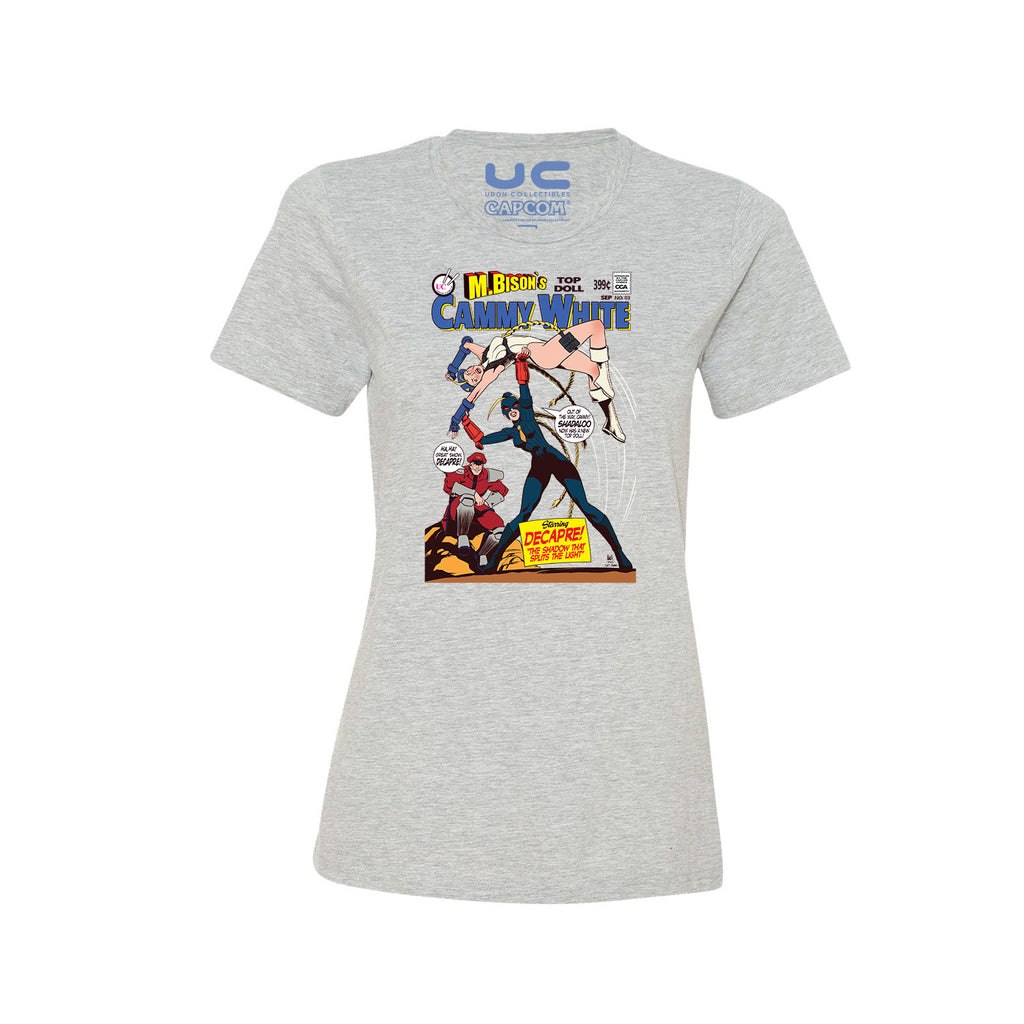 Cammy vs Decapre Women's Street Fighter Shirt  UdonCollectibles