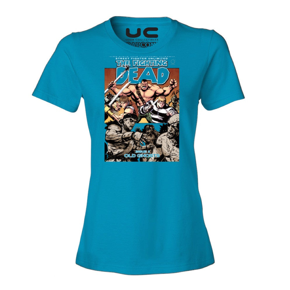 The Fighting Dead Women's Street Fighter Shirt  UdonCollectibles