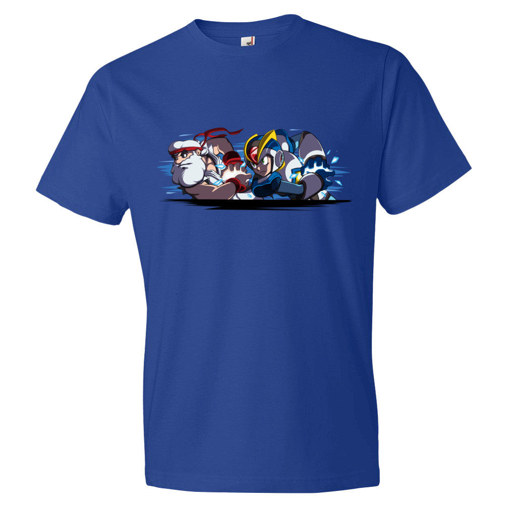 Mega Man X: Team Light Hadoken! - Mega Man Legacy Collection T-Shirt Shirt UdonCollectibles