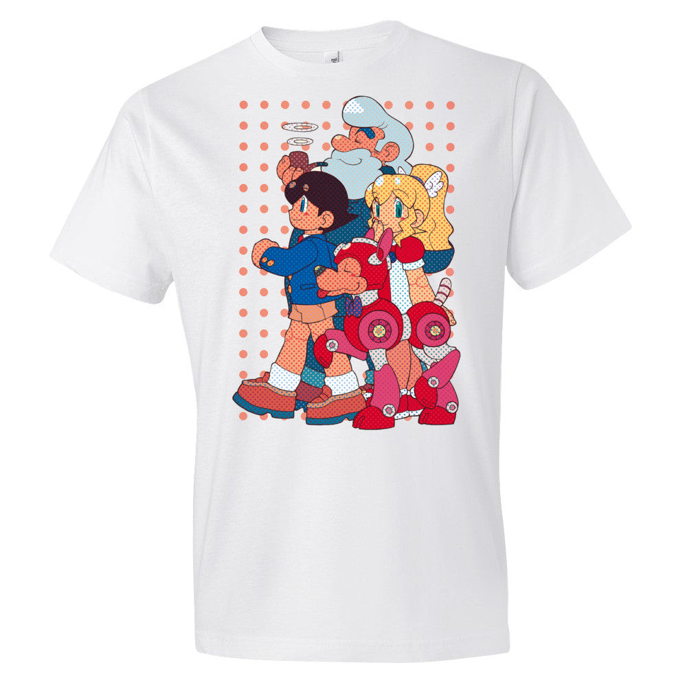 Team Light: A Day Off - Megaman Legacy Collection T-Shirt