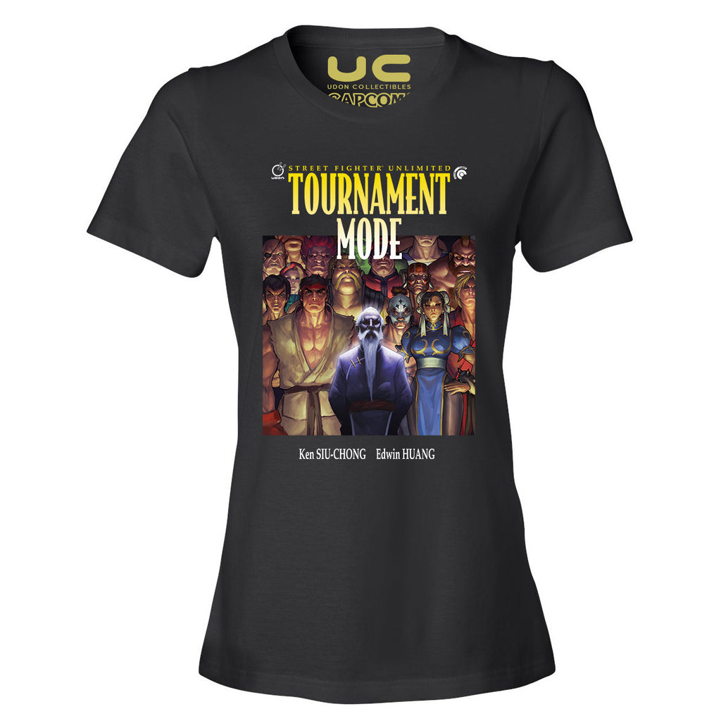 Tournament Mode Women's Street Fighter Shirt  UdonCollectibles