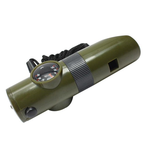 7-in-1 Mini Survival Whistle - Survival Cat