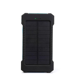 Dual USB Port Solar Power Bank - Survival Cat