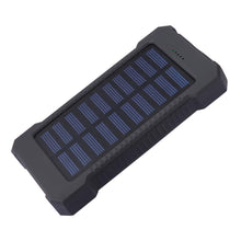 Load image into Gallery viewer, Dual USB Port Solar Power Bank - Survival Cat