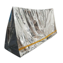 Load image into Gallery viewer, Emergency Thermal Reflective Tube Tent Shelter - Survival Cat