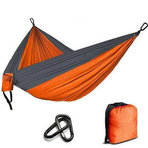 Portable & Lightweight Backpacking Parachute Hammock - Survival Cat