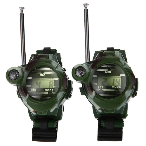 Kids Survival Walkie Talkie Wristwatch - Survival Cat