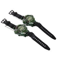 Load image into Gallery viewer, Kids Survival Walkie Talkie Wristwatch - Survival Cat
