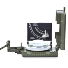 Load image into Gallery viewer, LSC2 Professional Metal Military Lensatic Sighting Compass with Inclinometer - Survival Cat