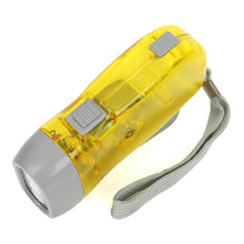 Load image into Gallery viewer, Manual 3-LED Hand Crank Emergency Flashlight - Survival Cat