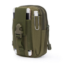 Load image into Gallery viewer, Tactical Military Style EDC Waist Belt/MOLLE Bag - Survival Cat
