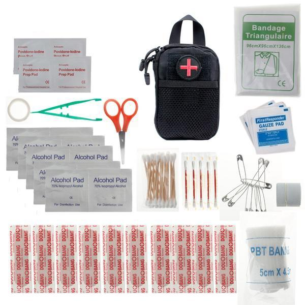 Mini Tactical First Aid Kit - Survival Cat