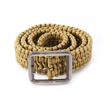 Load image into Gallery viewer, Paracord EDC Survival Belt - Survival Cat