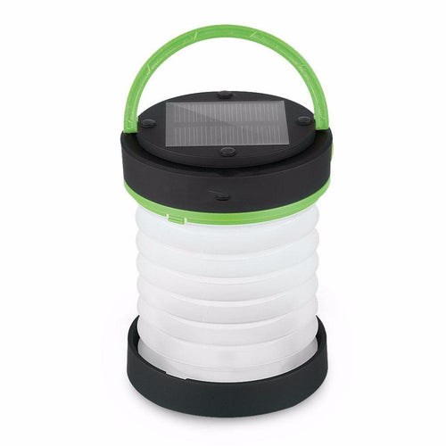 Collapsible Solar Powered Lantern with USB Charger - Survival Cat
