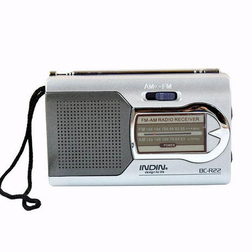 BC-R22 Portable Mini Travel Radio - Survival Cat