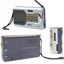 Load image into Gallery viewer, BC-R22 Portable Mini Travel Radio - Survival Cat