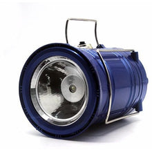 Load image into Gallery viewer, Solar Powered 3-Mode LED Lantern/Flashlight with USB Power Bank - Survival Cat