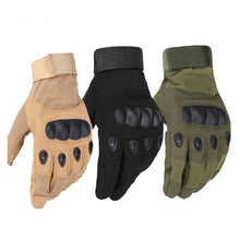 Load image into Gallery viewer, SC-TG1 Hard Knuckle Military Style Tactical Gloves (Full Finger) - Survival Cat
