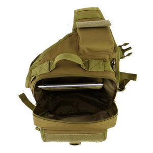 SC-X11 Waterproof Outdoor Military Style Shoulder Sling Backpack - Survival Cat