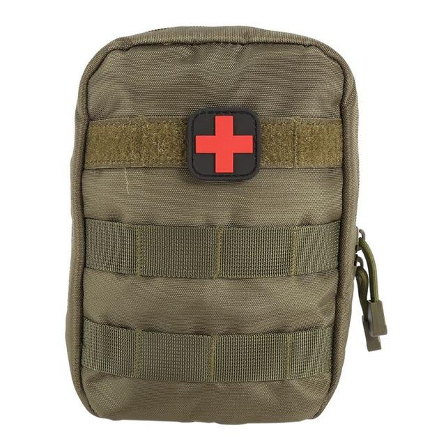 Compact Military Style First Aid Waist Belt/MOLLE Bag - Survival Cat