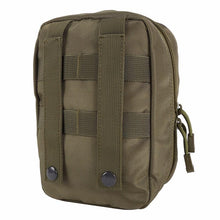 Load image into Gallery viewer, Compact Military Style First Aid Waist Belt/MOLLE Bag - Survival Cat