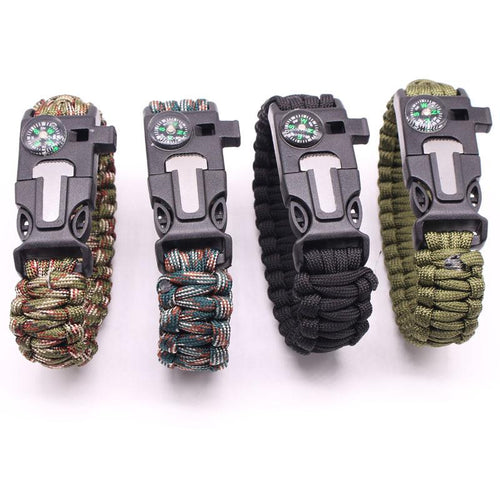 Tactical Paracord Survival Bracelet - Survival Cat