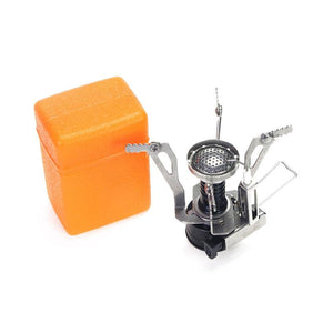 Ultralight Portable Outdoor Camping Stove with Piezo Ignition - Survival Cat