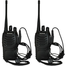 Load image into Gallery viewer, BF-888S Two-Way Walkie Talkie Portable Radios (Pack of 2) - Survival Cat