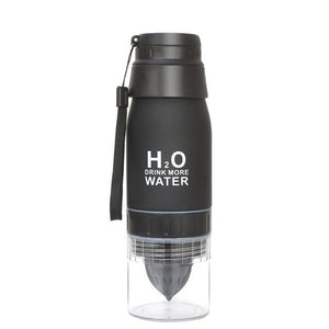 H2O 650 mL Water Bottle and Fruit Infuser - Survival Cat