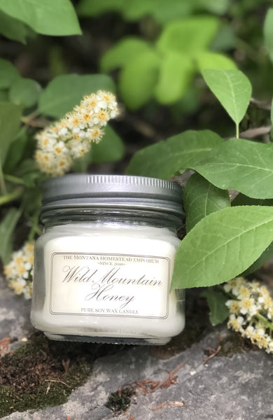 made in Montana soy wax candles