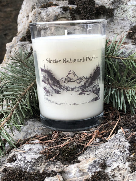 GNP candle in boutique style jar