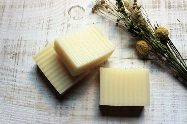 cold processed soap made with pure essential oils
