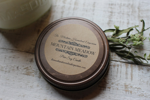 Mountain Meadow soy candle