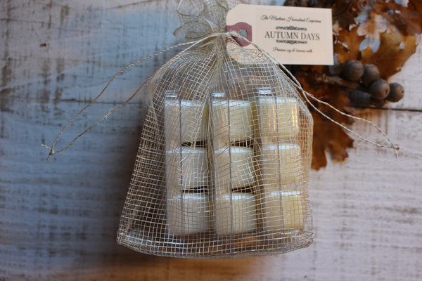 our premium was melts packaged in a beautiful natural fiber gift bag