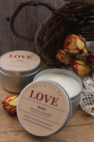 The Gift of Love candle
