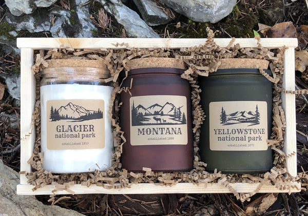Montana gift collection - in wood crate