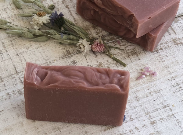 Prairie Rose essential oil soap