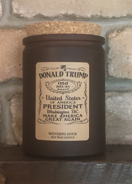 candle gift for Donald Trump supporter