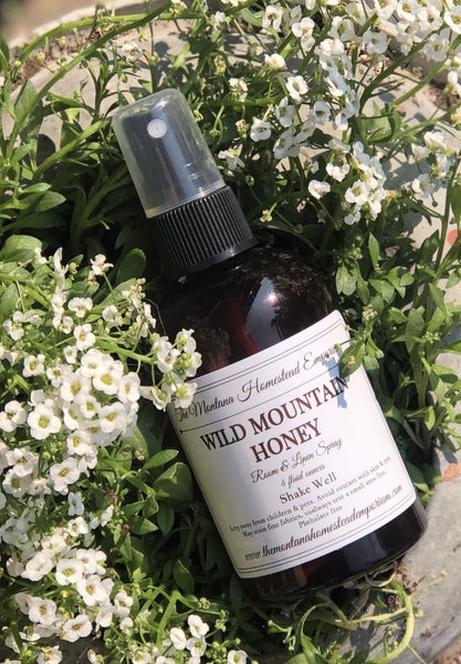 wild mountain honey room spray