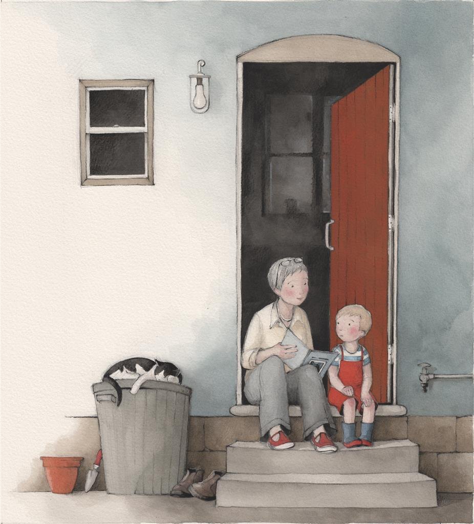 Louis and Grandma by Freya Blackwood